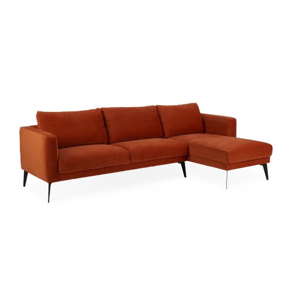 Andrea A1 3 Seater Chaise Lounge Right