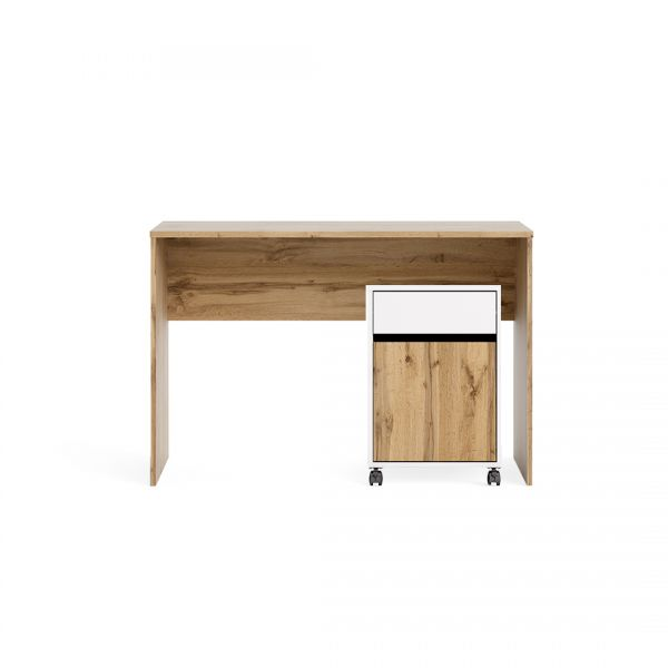 Heimo Desk and Mobile Cabinet