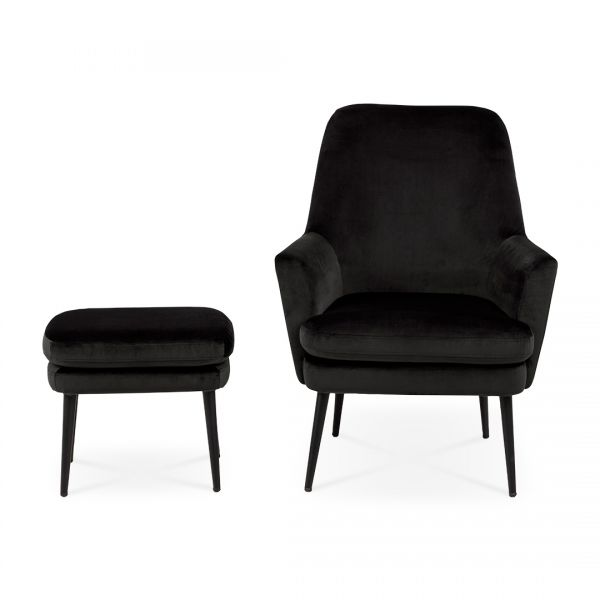 Luna Resting Chair with Footstool